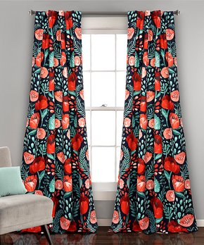Duck River Textile | Dusty Teal Rhys Blackout Curtain Panel - Set of Two