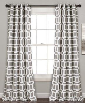 Lush Décor | Gray Urban Savanna Curtain Panel