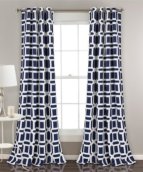 Duck River Textile | Chocolate Ashmury Blackout Curtain Panel - Set of Two