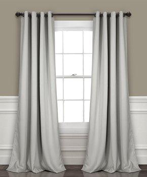 Duck River Textile | Tan Lydelle Linen Stripe Curtain Panel - Set of Two