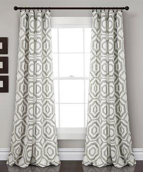 Duck River Textile | Tangerine Xandra Curtain Panels & Valance Set