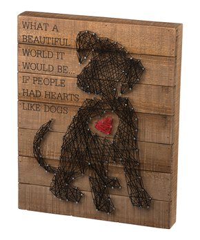 Primitives by Kathy | Puppy Heart String Art Wall Décor