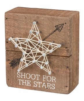Primitives by Kathy | 'Shoot for the Stars' String Art Wall Décor