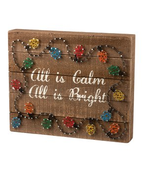 Primitives by Kathy | 'Love' Arrow String Art Box Sign