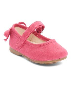 Dotty Shoes | White Napa Ballet Flat - Girls