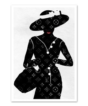 Oliver Gal | Oliver Gal 'Girl Power Books Silver' Print
