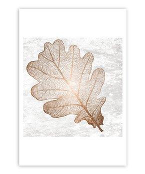 Oliver Gal | Oliver Gal 'Oak Copper Leaf' Art Print