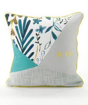 Gold Brown Ombre Throw pillow case 1818