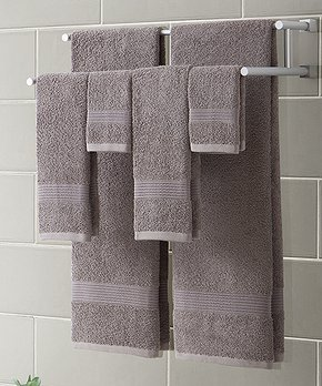 Splash Home | Blue Adamo Shower Curtain