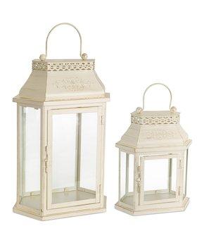 Melrose | Cream Lantern