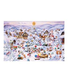 Piatnik | Christmas Toy Factory 1,000-Piece Puzzle