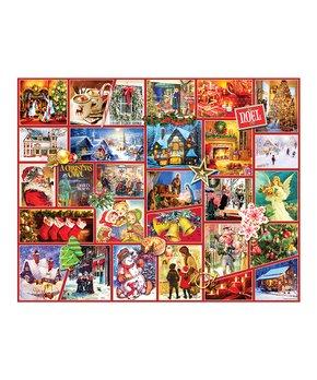 White Mountain Puzzles | Christmas Train 1,000-Piece Puzzle