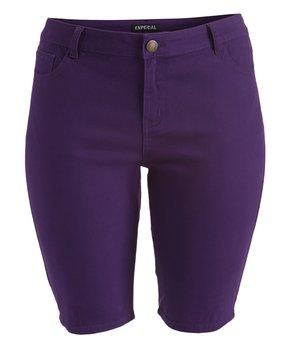 Emperial Premium | Purple Emperial Bermuda Shorts ...