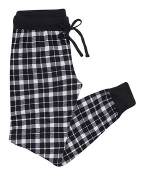 all gone. Black Plaid Joggers - Women. all gone. Nap Chat  38a8e16f1