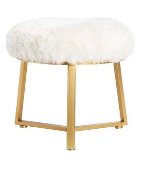 Round Mango Wood Adjustable Table