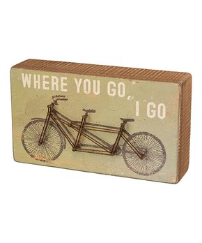Primitives by Kathy | Bike String Box Sign