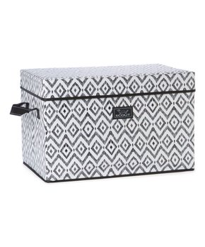 SCOUT Bags | Black & White Tiny Tuxedo Rump Roost Large Storage Bin