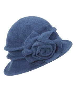 6485e1015a642e all gone. Jeanne Simmons Accessories | Blue Large Flower Cloche. all gone. Jeanne  Simmons Accessories ...