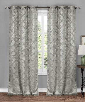 Duck River Textile | Dark Gray Solid Ashmury Blackout Curtain Panel - Set of Two