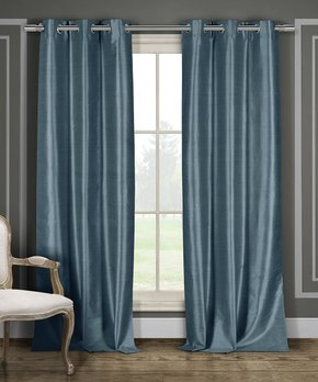 Duck River Textile | Natural Beige Longoria Curtain Panel - Set of Two
