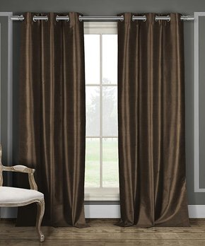 Duck River Textile | White Conor Valance & Curtain Panel Set
