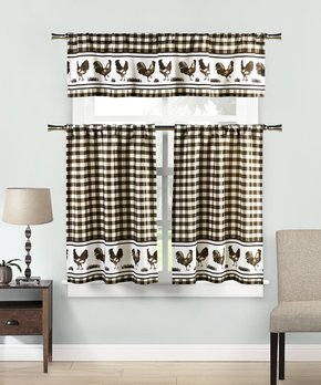 Duck River Textile | Navy Newbella Geometric Curtain Panel - Set of Two
