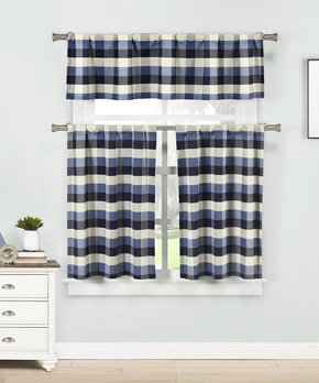 Duck River Textile | Dark Gray Courtney Blackout Curtain Panel - Set of Two