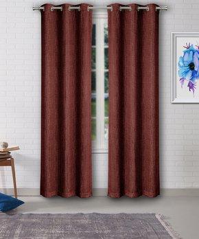 Lush Décor | Taupe Ventura Curtain Panel