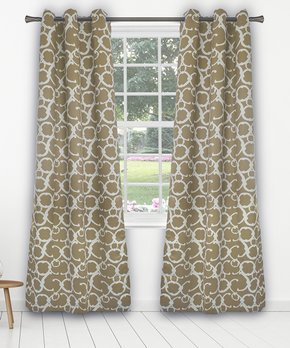 kensie | Mouse Maddie Blackout Curtain Panel - Set of Two