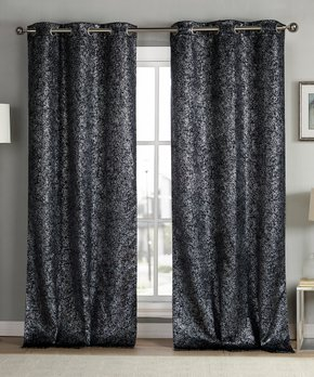 Duck River Textile | Taupe Mason Curtain Panel - Set of Two