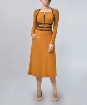 fb998b8e30 Lila Kass   Red Houndstooth Raglan Dress - Women · all gone