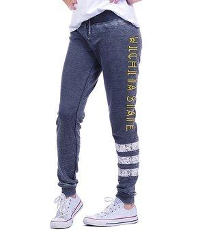 Wichita State Shockers Varsity Stripe Pants - Women