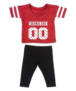 Arizona State Sun Devils Ruffle Cap-Sleeve Dress - Toddler