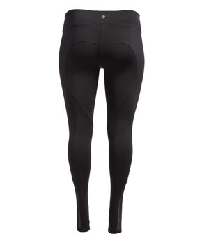 Therapy | Black Seamed Performance Leggings – Plus