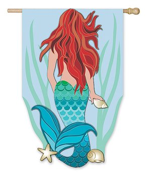 Evergreen | Mermaid Outdoor Flag