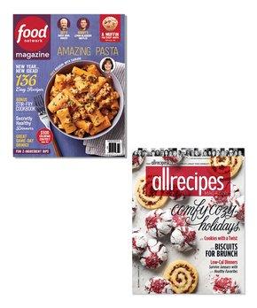 Food Network & Allrecipes Magazine Subscription