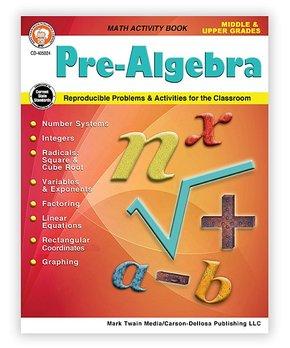 Carson Dellosa | Pre-Algebra Grades 5 - 12 Workbook