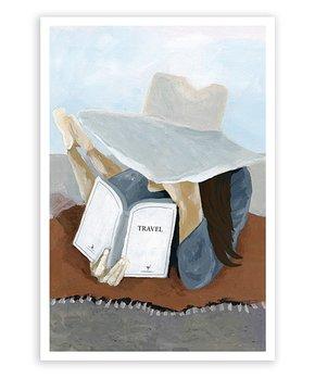 Oliver Gal | Cluttered Desk Print
