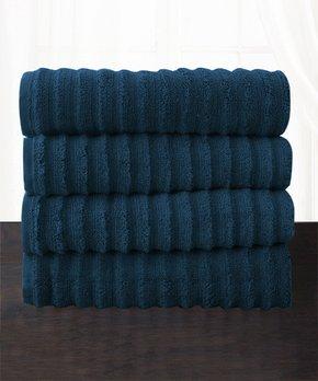 Amrapur Overseas | Taupe Chain Jacquard Six-Piece Towel Set