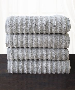 Affinity Home | Silver Spa Four-Piece Cotton Bath Towel Set