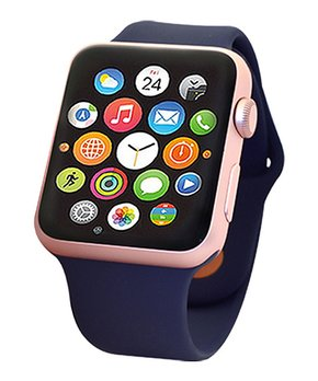 Apple | Refurbished Rose Gold & Midnight Blue Band 42-mm Series 2 Watch