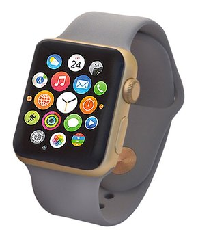 Apple | Refurbished Gold & Concrete Sport Band 38-mm Series 2 Watch