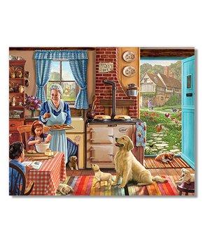 White Mountain Puzzles | Cozy Kitchen 300-Piece Puzzle