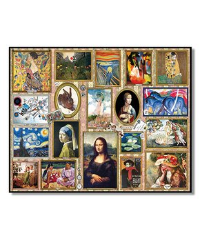 White Mountain Puzzles | Great Paintings 1,000-Piece Puzzle