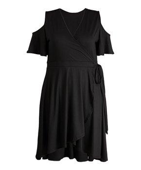 1a7ce1f5 all gone. Fashionomics   Black Cutout Dress ...