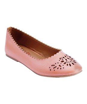 Zula Shoes | Fuchsia Ankle-Strap Flat - Girls