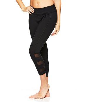 638c95d91d Gaiam | Black Stella Strappy Capri Leggings - Women. all gone
