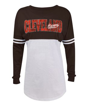 Cleveland Browns Long-Sleeve Tee - Women