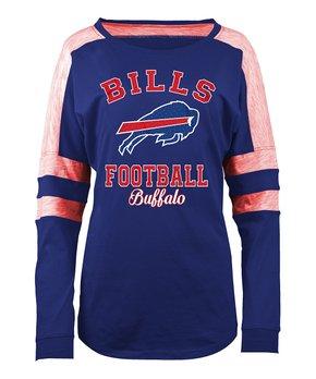 Buffalo Bills Space-Dye Long-Sleeve Tee - Women