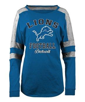 Detroit Lions Space-Dye Long-Sleeve Tee - Women